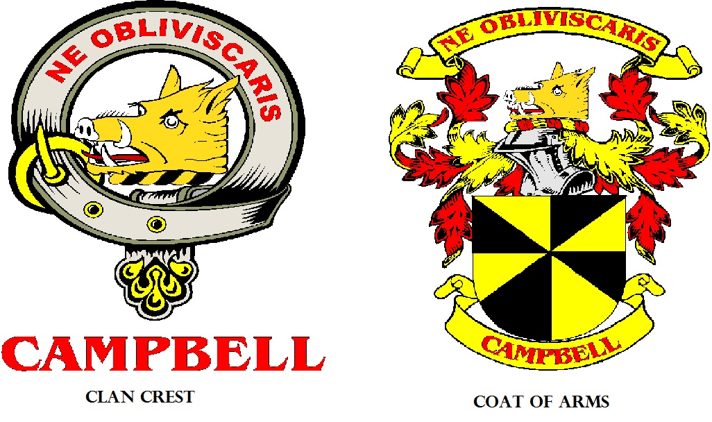 Crest vs. Coat of Arms