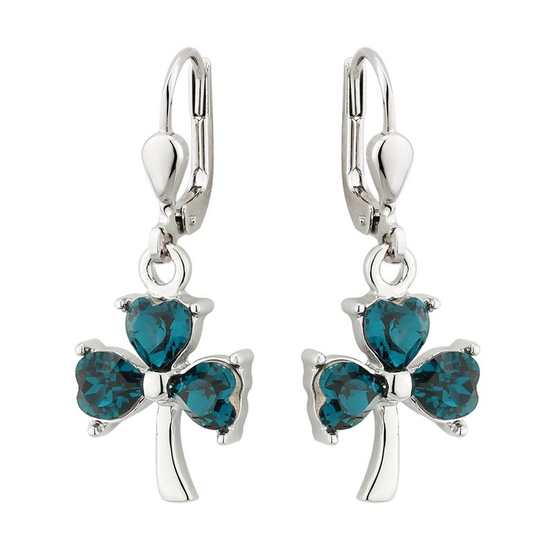 Lucky Shamrock Earrings S33578