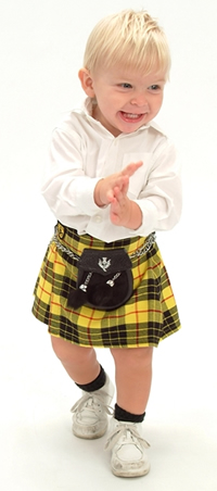 Baby, Toddler & Youth Sport Kilts
