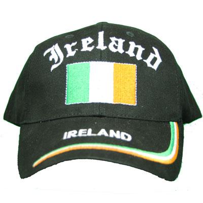 Black Ireland Hat