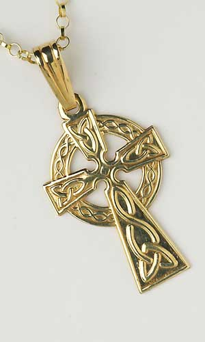 Traditional Celtic Cross Small C450