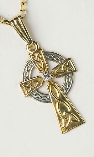Celtic Diamond Single Stone C453