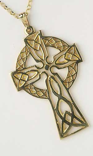 Filigree Celtic Cross Large Heavy Chain C5300LGE