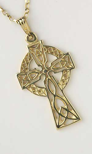 Filigree Celtic Cross Medium C5300