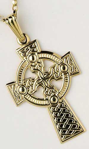 Traditional Celtic Cross Medium C600