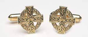 Celtic Cross Cuff Links CL1800