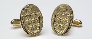 Oval Cuff Links Large CL300