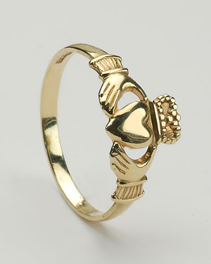 Baby Claddagh Ring CLAD1