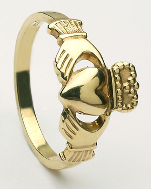 Ladies Claddagh Ring Medium CLAD2H