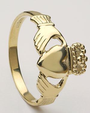 Gents Claddagh Ring Medium CLAD5M