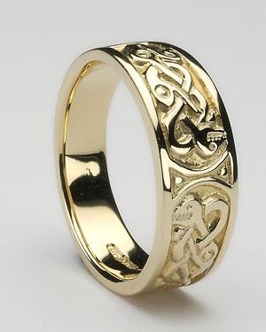 Ladies Celtic Ring CTR1