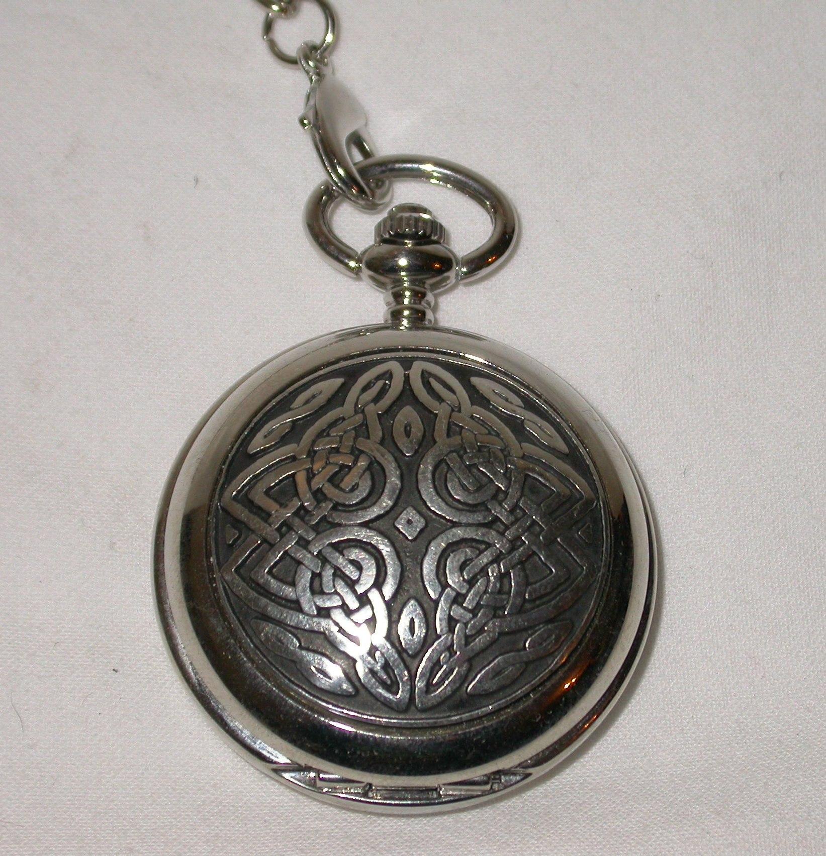 Celtic Knot Pocket Watch PW22