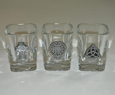 Celtic Knot Shot Glass