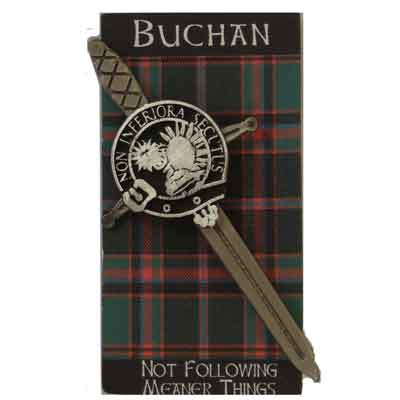 Clan Crested Kilt Pins