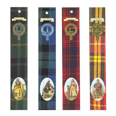 Scottish Clan Bookmarks