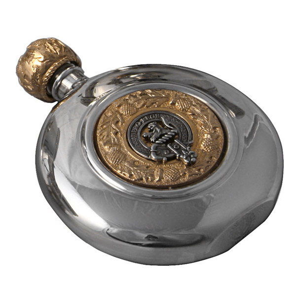 Clan Crested Flasks