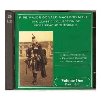 Donald MacLeod Piobaireachd Tutorial CDs Volumes 1 - 21