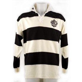 Guinness Cream & Black Rugby Shirt G3039