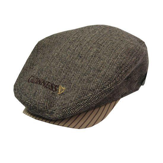 Guinness Tweed Flat Cap G6131