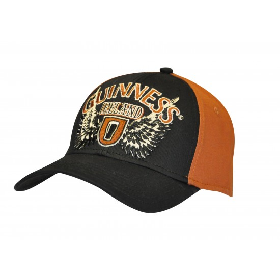 Guinness Black & Red Wings Cap G9006