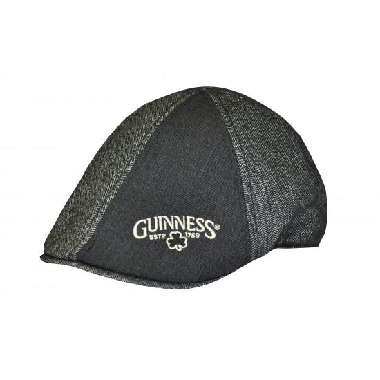 Guinness Black & Grey Ivy Cap GU0001