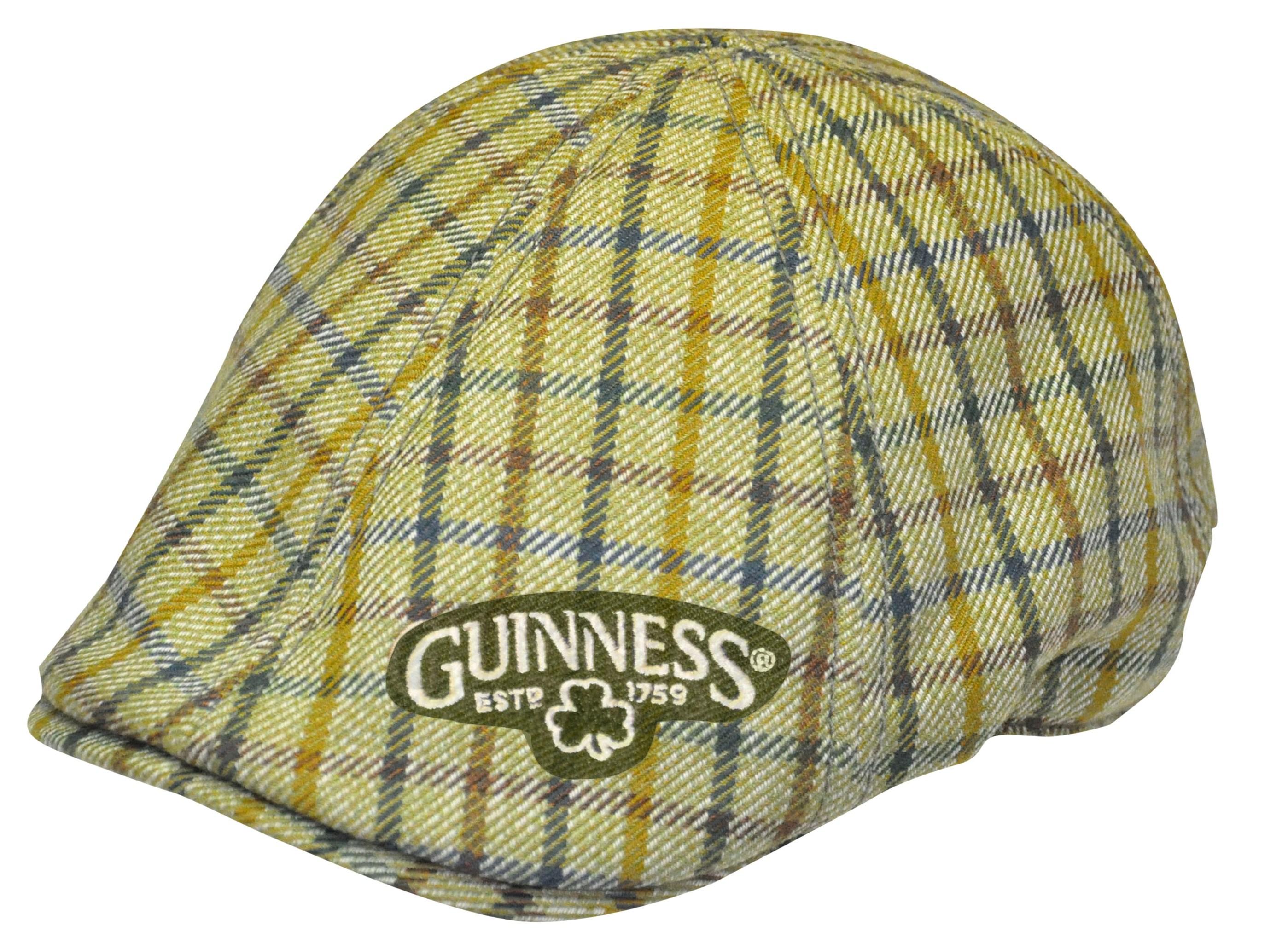Guinness Green Plaid Ivy Cap GU0002