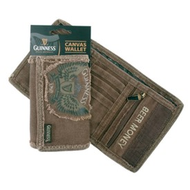 Guinness Canvas Wallet Wings 2379
