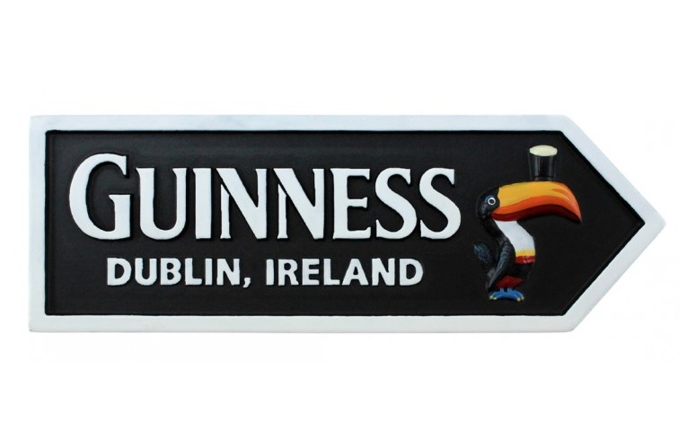 Guinness Road Sign Magnet GNS5019