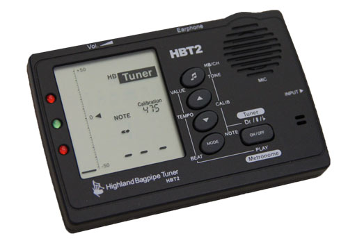 HBT2 Highland Bagpipe Tuner