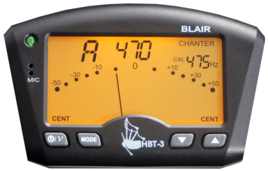 HBT3 Highland Bagpipe Tuner