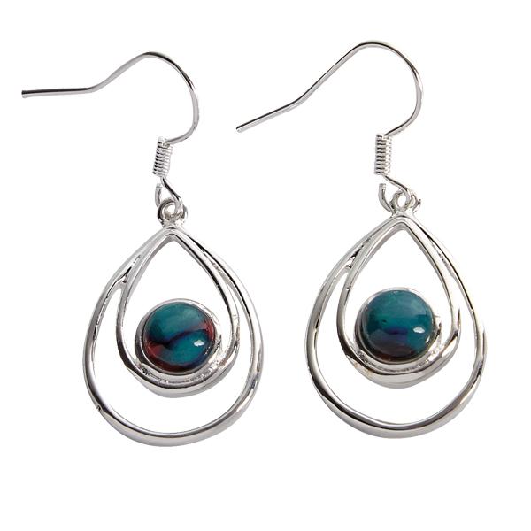 Heathergem Peacock Earrings HE80