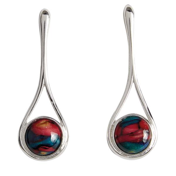 Braon Long Drop Heathergem earrings HE81