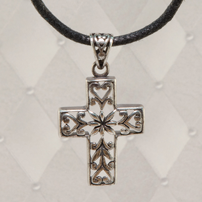 High Cross Silver Pendant J60CR02