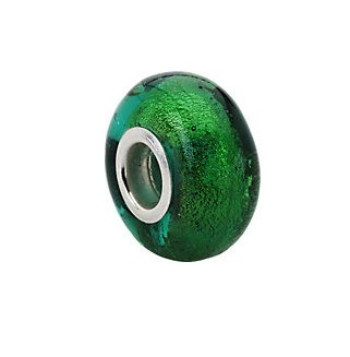 Kera Green Murano Glass Bead 24799