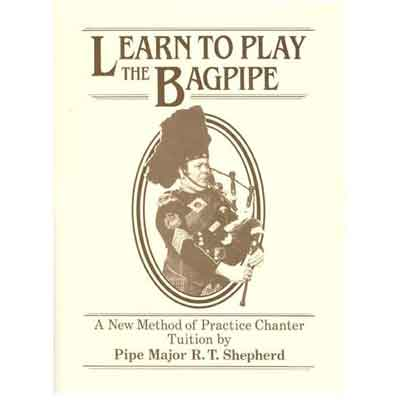 Learn to Play the Bagpipes Book & CD