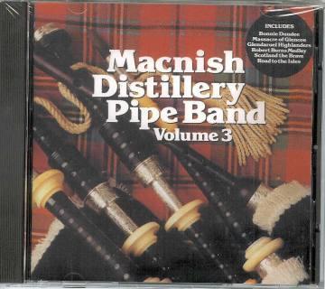 MacNish Distillery Pipe Band Vol 3 CD