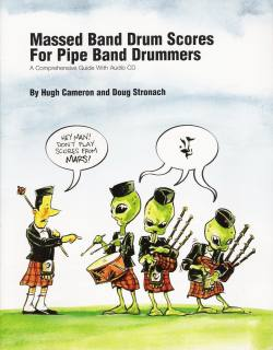 Massed Band Drum Scores For Pipe Band Dummers