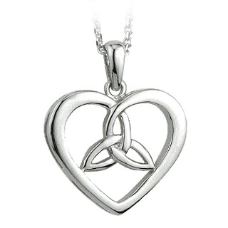Trinity Heart Pendant S44024