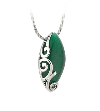 Celtic Pendant with Colored Stone S44907