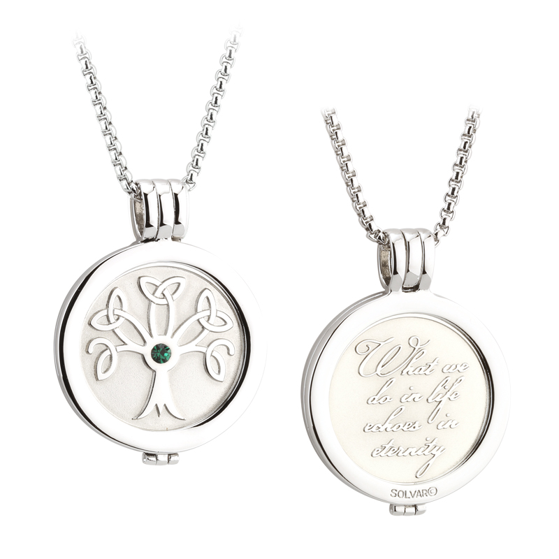 Tree of Life Coin Pendant S45792