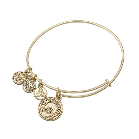 Claddagh Charm Bangle S5749G