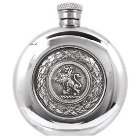 Scottish Lion Badge Flask SG263