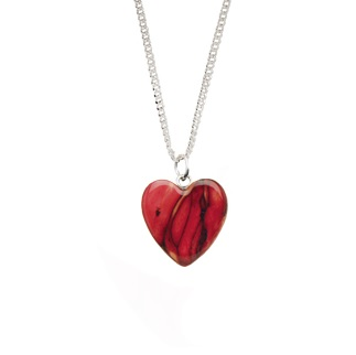 Wee Heart Heathergem Pendant SP10