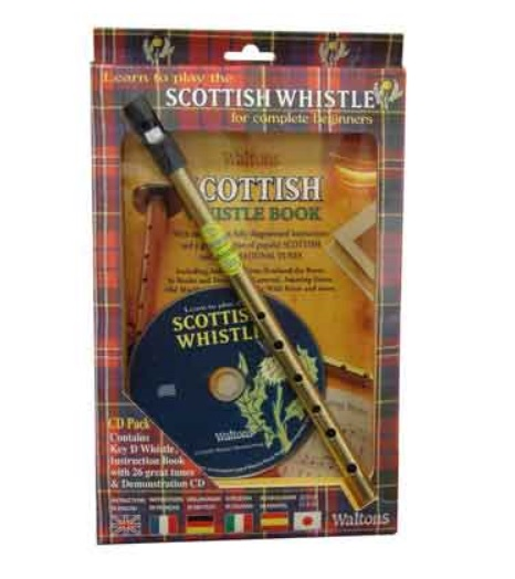 Walton's Scottish Whistle Pack