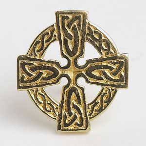 Celtic Cross Tie Tac T1800