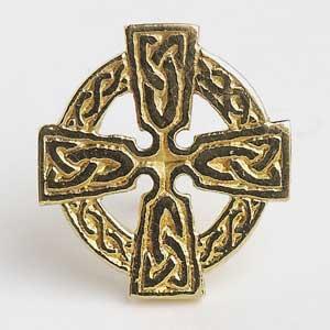 Celtic Cross Tie Tac T1800