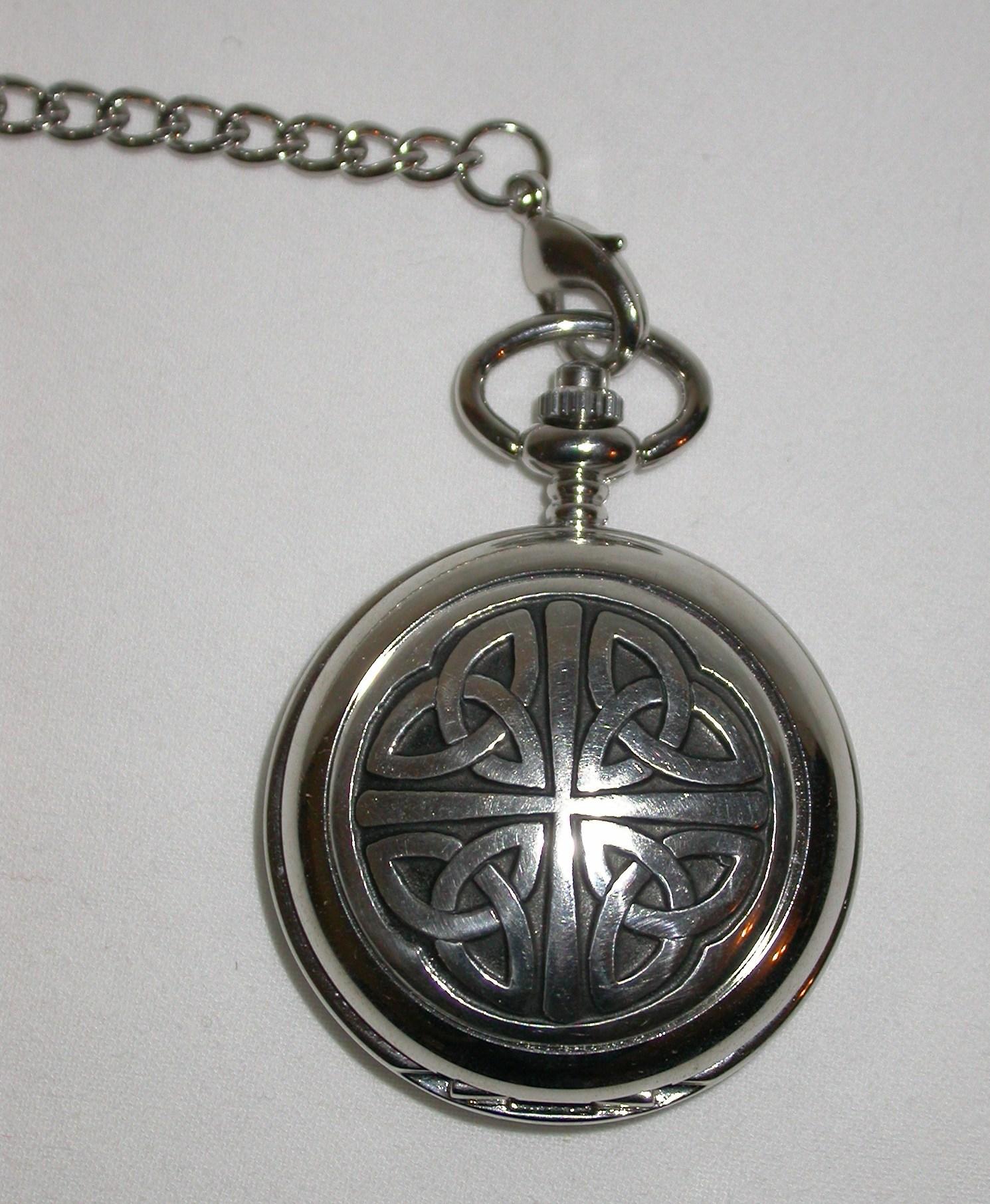 Celtic Trinity Knot Pocket Watch