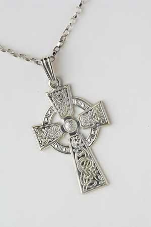 Celtic Warrior Shield Cross WC2