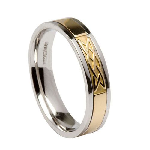 Gents Signature Band Lover's Knot WED426