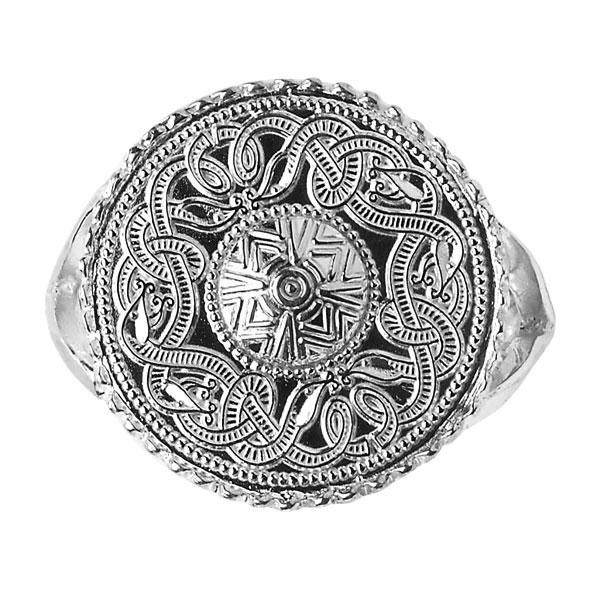 Celtic Warrior Shield Ring WR2